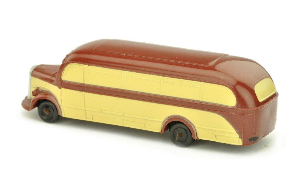 Maerklin - Omnibus Mercedes, weinrot/beige - 2