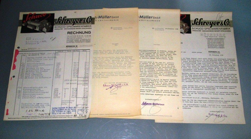 Schuco - Literatur und Ersatzteile (1939 - 1960) - 2