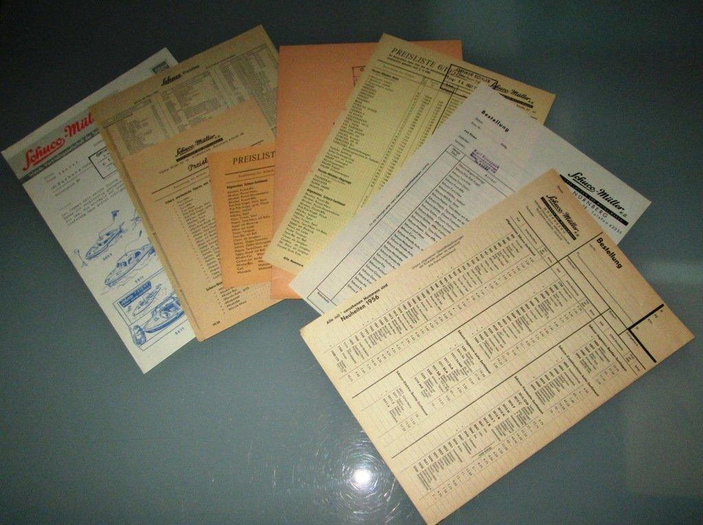 Schuco - Literatur und Ersatzteile (1939 - 1960) - 5