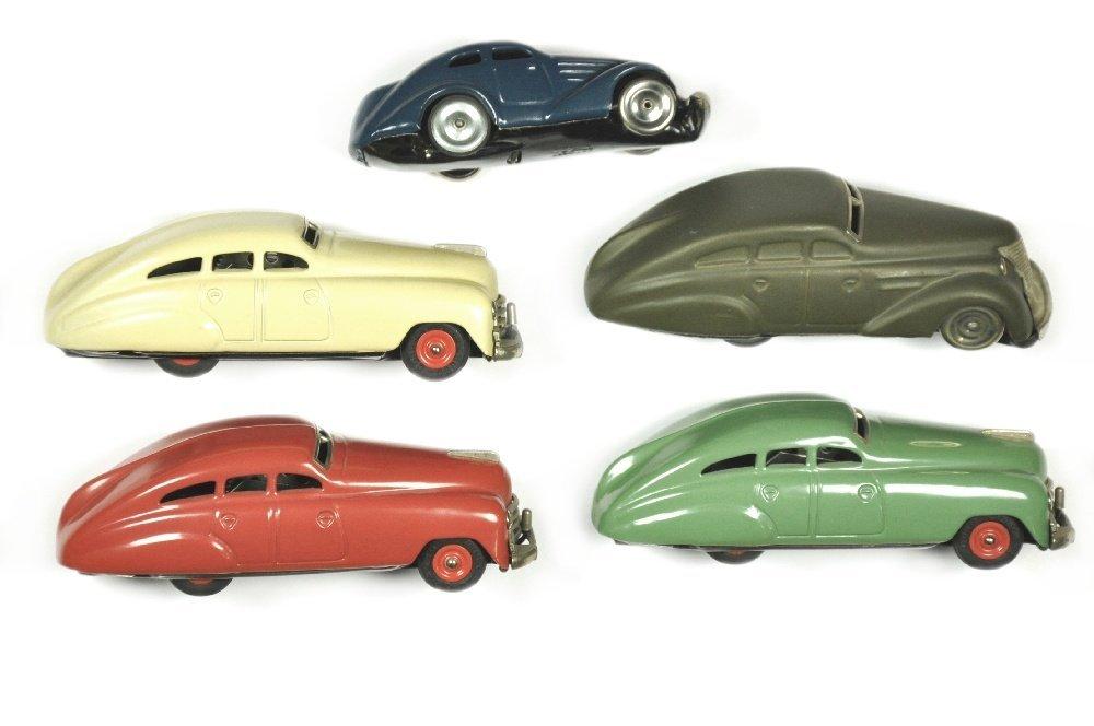 Schuco - Konvolut 5 Patent-Modelle