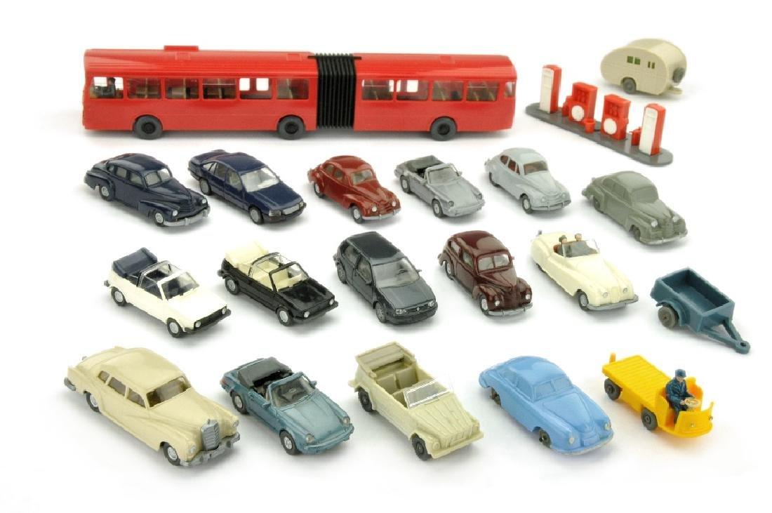 Konvolut 6+14 Modelle der 1950er Jahre