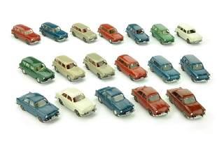 Konvolut 18 VW-PKW der 60er/70er Jahre