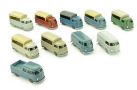 Konvolut 10 VW T1 der 60er Jahre