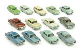Konvolut 13 Opel-PKW der 60er/70er Jahre