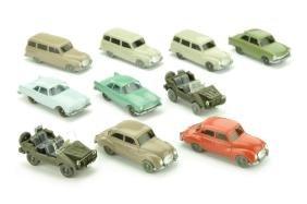 Konvolut 10 DKW-PKW der 60er Jahre