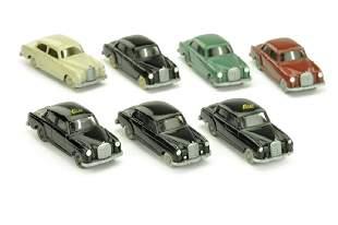 Konvolut 7 Mercedes-PKW der 60er Jahre