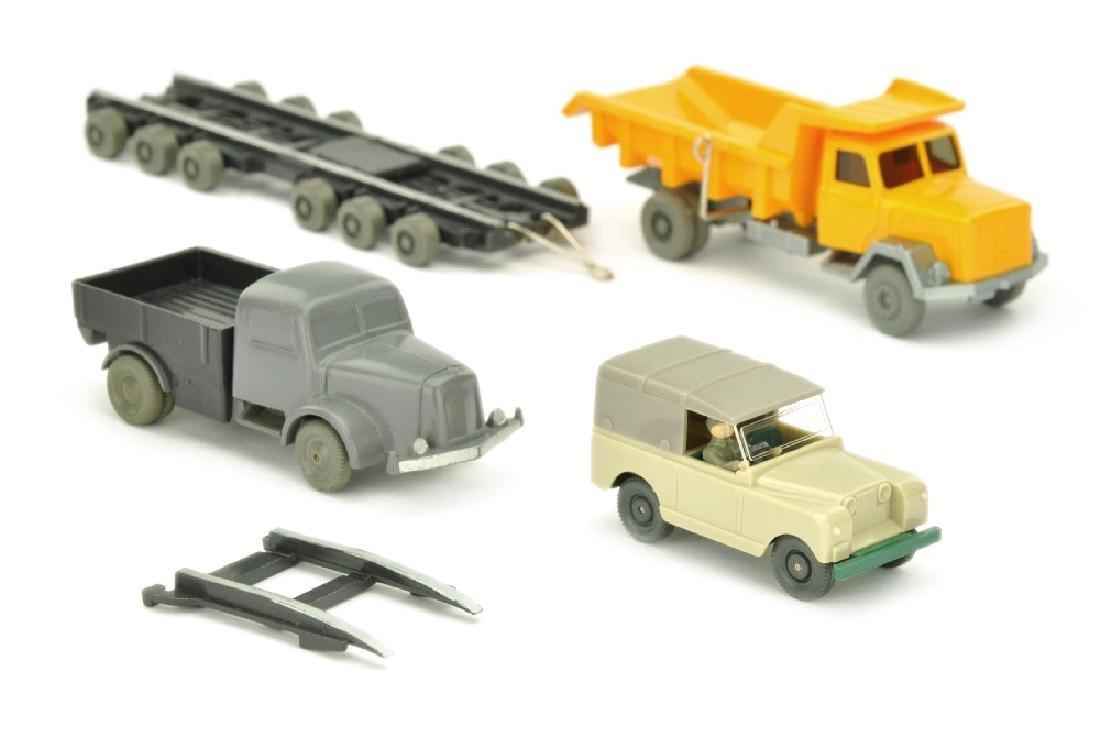 Konvolut 3 Modelle der 50er/80er Jahre