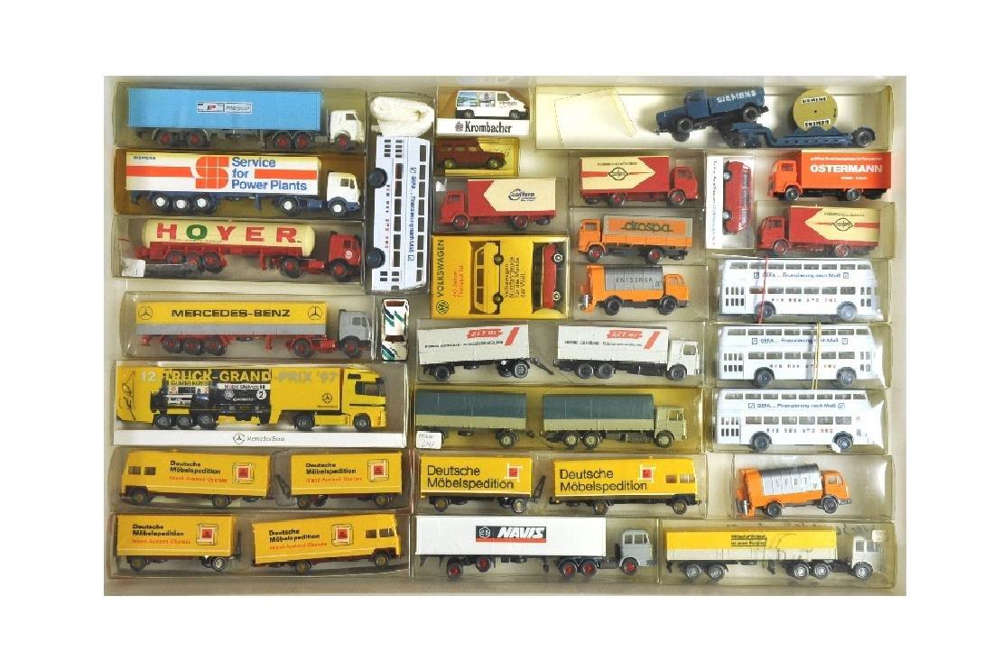 Konvolut 29 Modelle der 70er/80er Jahre