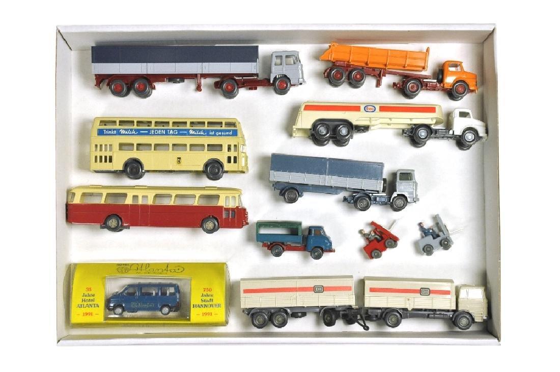 Konvolut 11 Modelle der 70er/80er Jahre