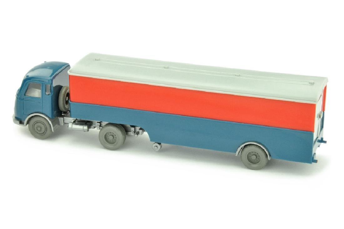 Koffer-Sattelzug Pullman (Oberteil orangerot) - 2