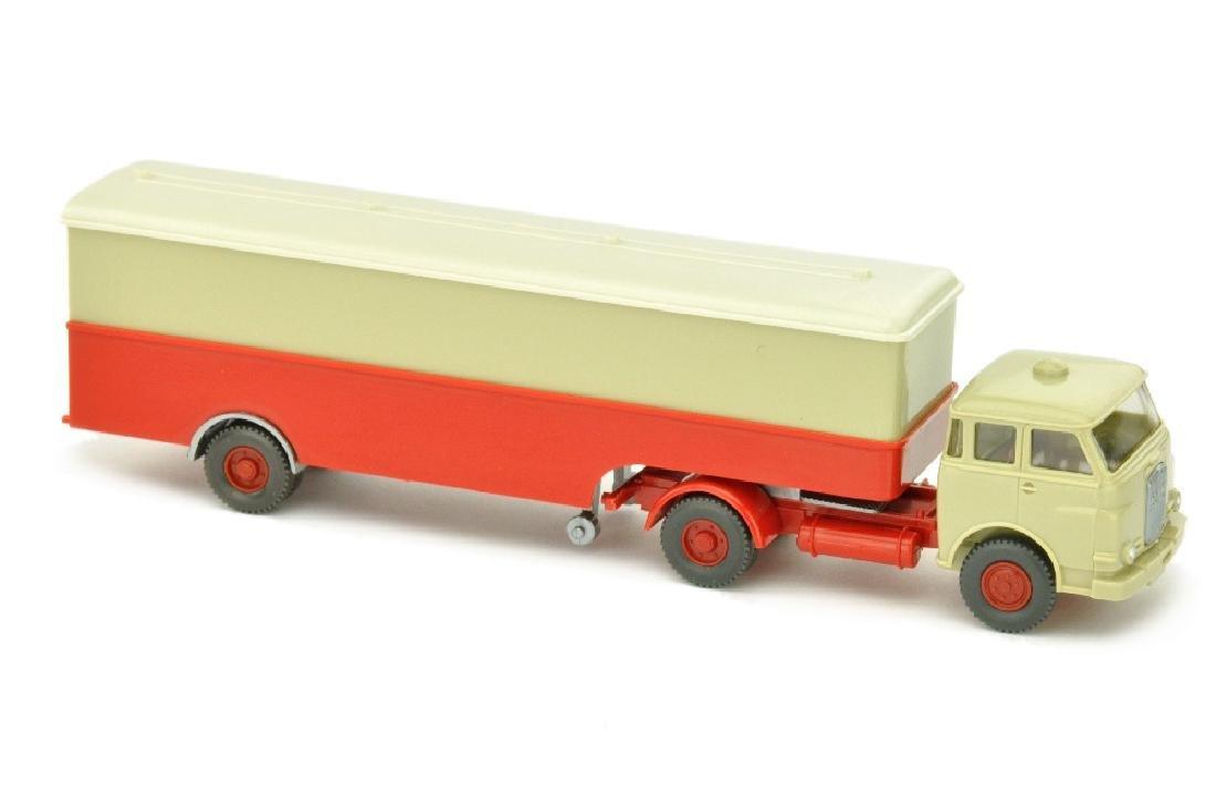 Koffer-Sattelzug MAN 10.230