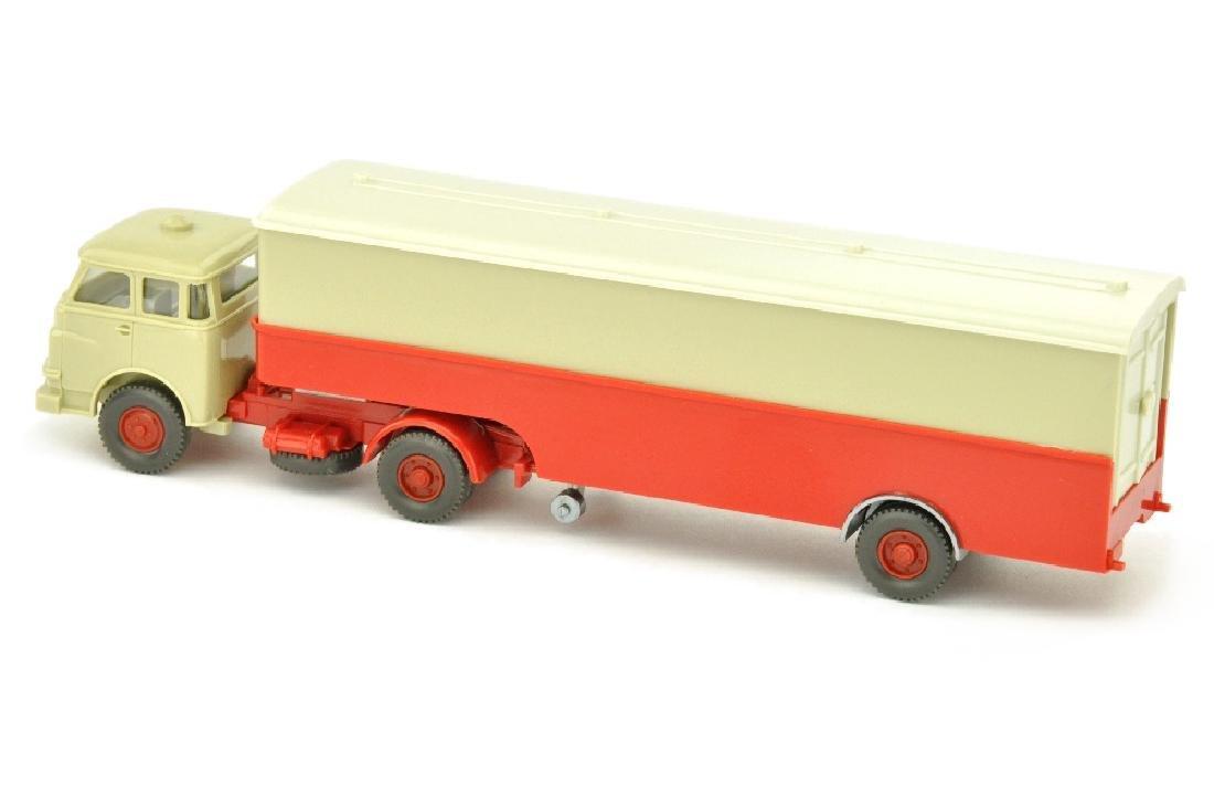 Koffer-Sattelzug MAN 10.230 - 2