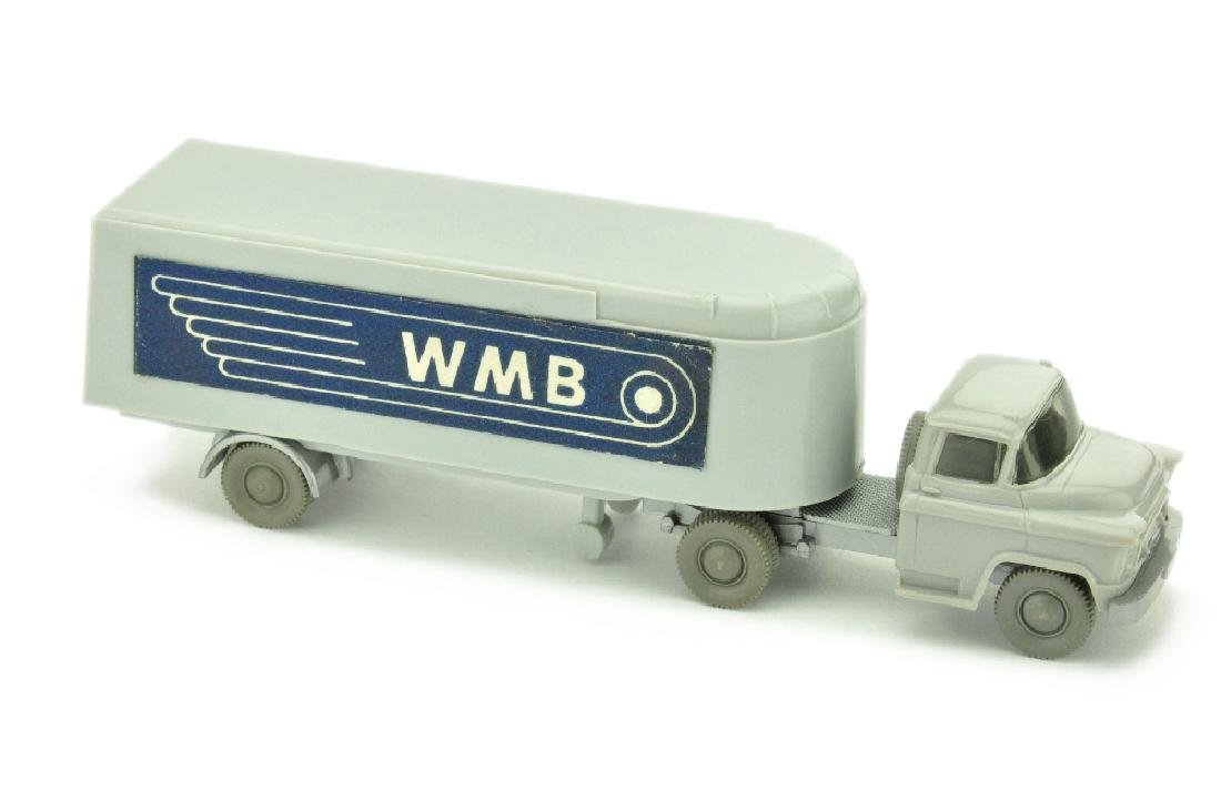Sattelzug Chevrolet WMB, d'-silbergrau