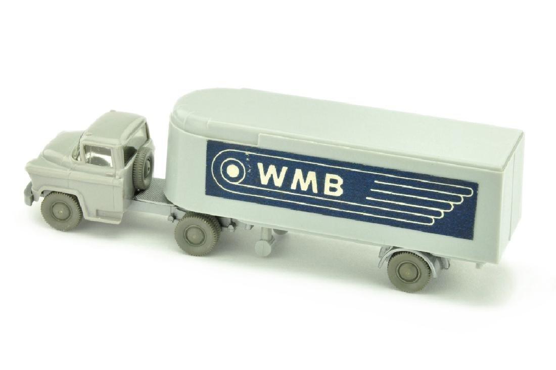 Sattelzug Chevrolet WMB, d'-silbergrau - 2