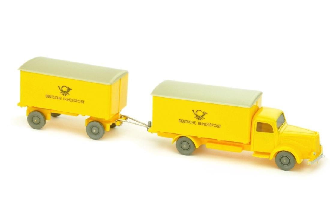 Postwagen MB 5000 mit Anhaenger