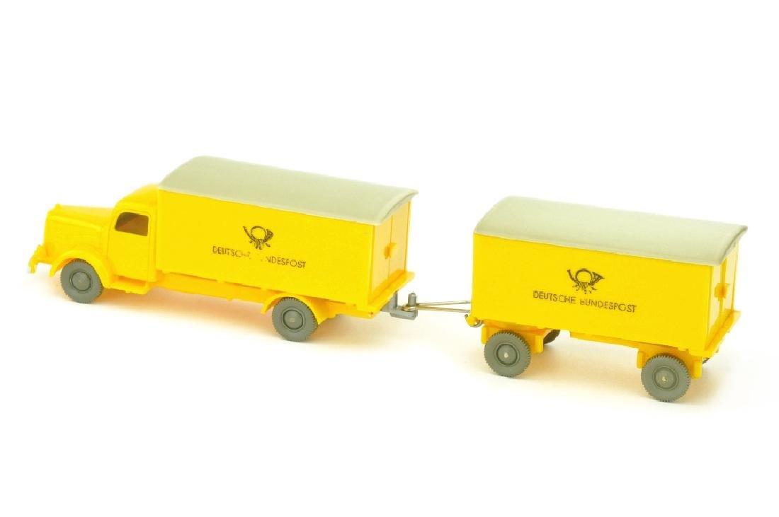 Postwagen MB 5000 mit Anhaenger - 2