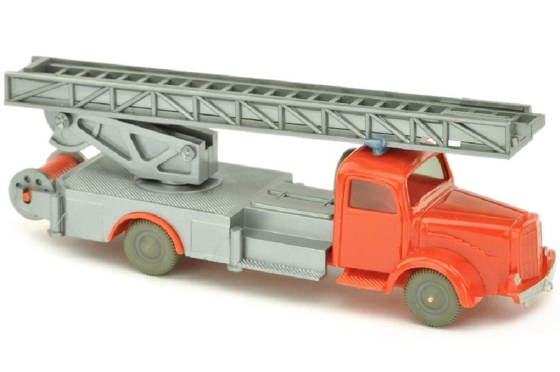 Leiterwagen MB 5000, orangerot/silbern