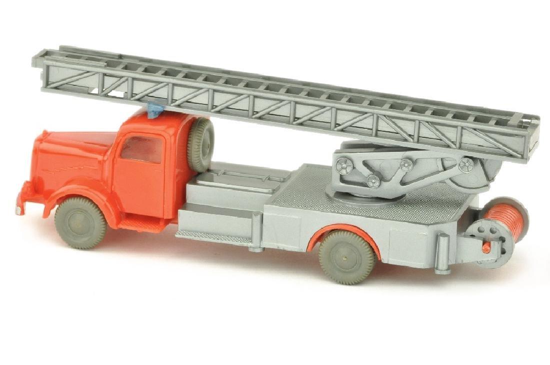 Leiterwagen MB 5000, orangerot/silbern - 2