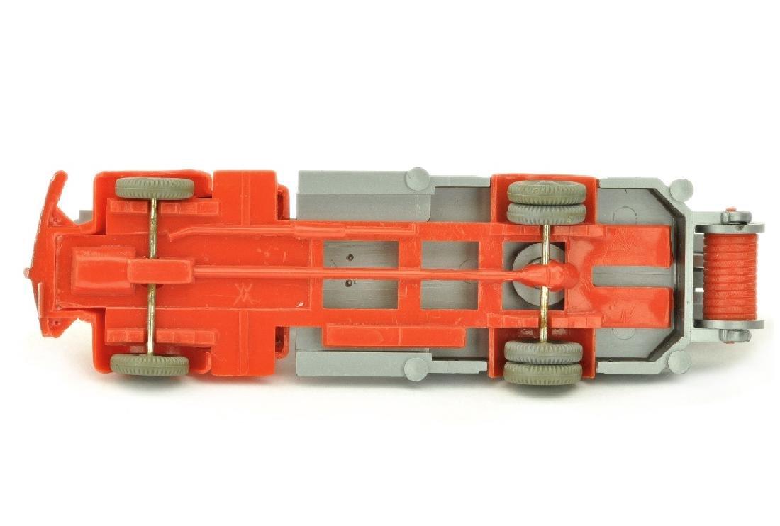 Leiterwagen MB 5000, orangerot/silbern - 3