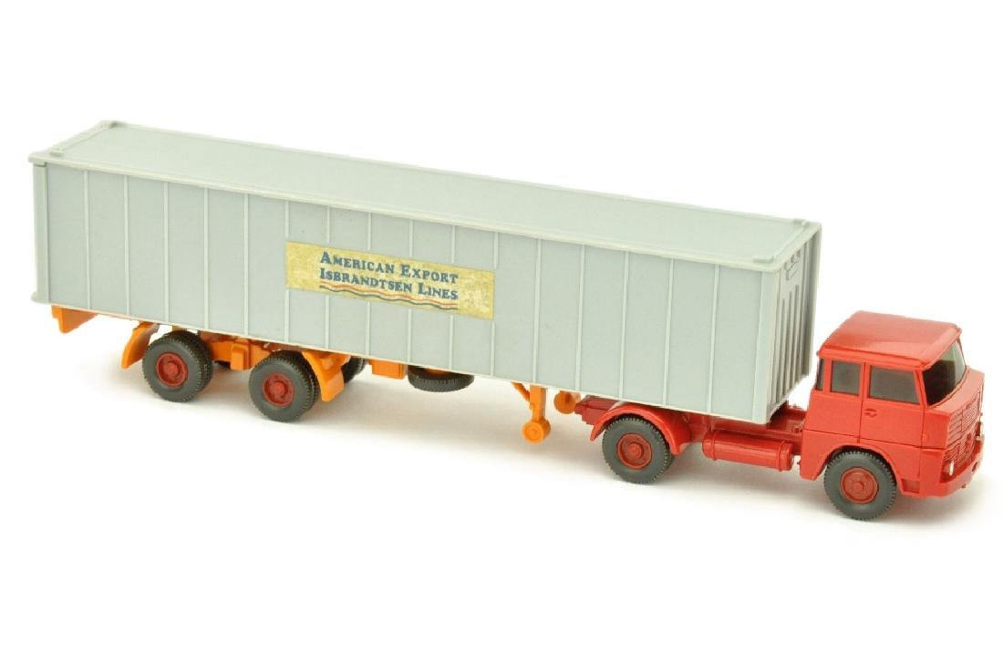 """Container-LKW HS 14 """"American Export"""""""