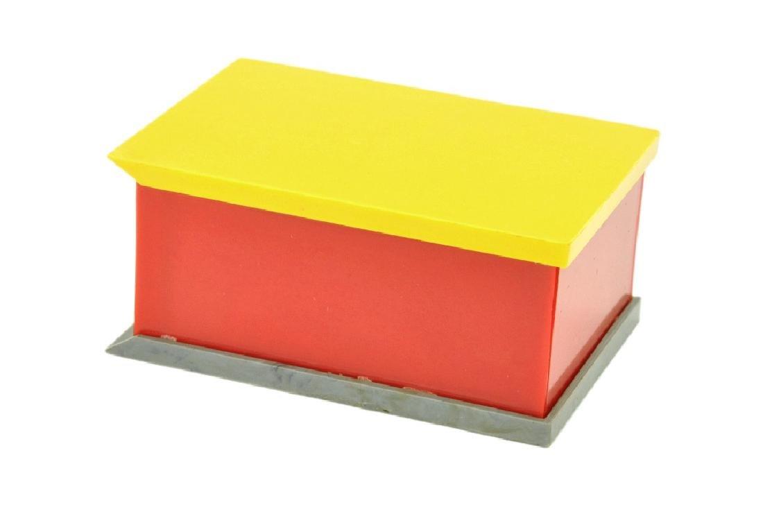 PKW-Garage, gelb/rot - 2