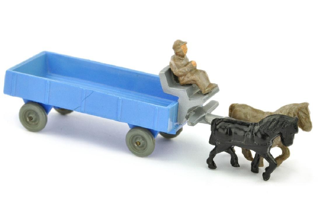 Pferdewagen (Typ 2), himmelblau