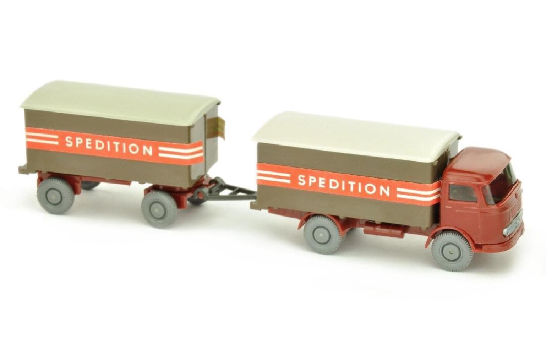 Koffer-Lastzug MB LP 321 Spedition