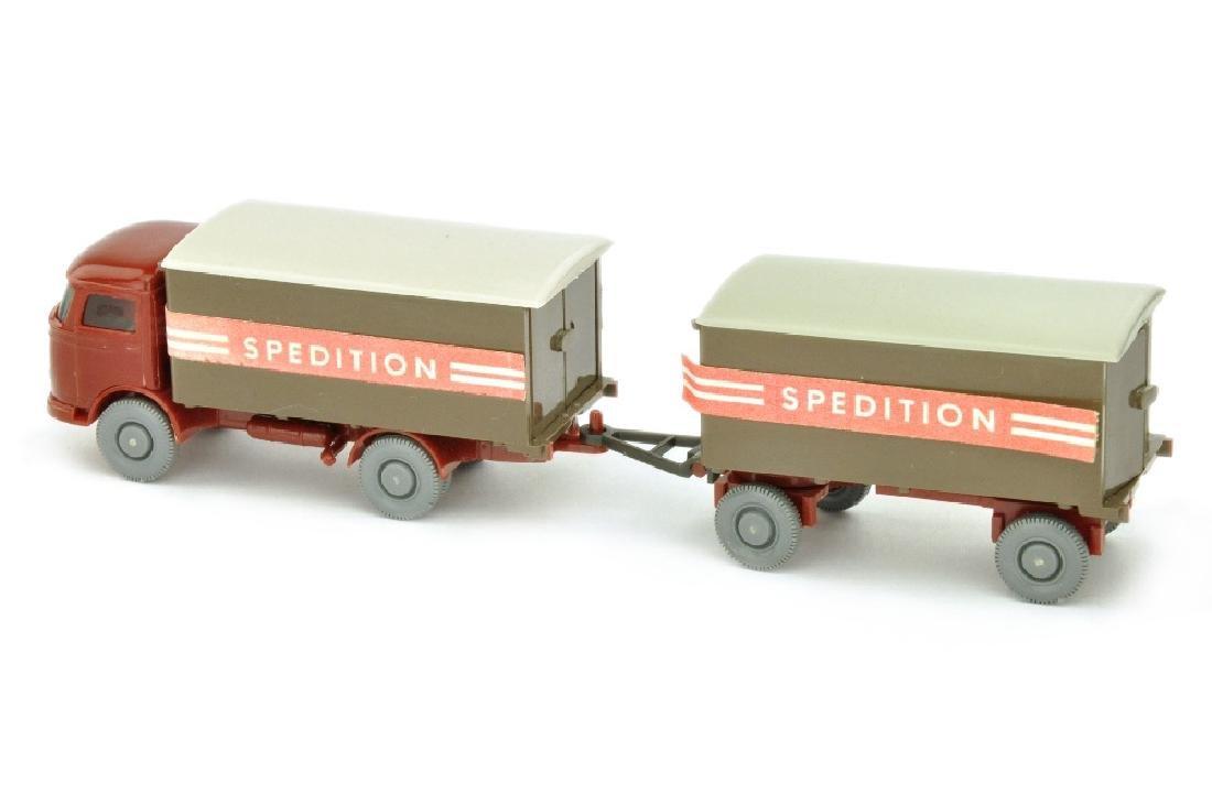 Koffer-Lastzug MB LP 321 Spedition - 2