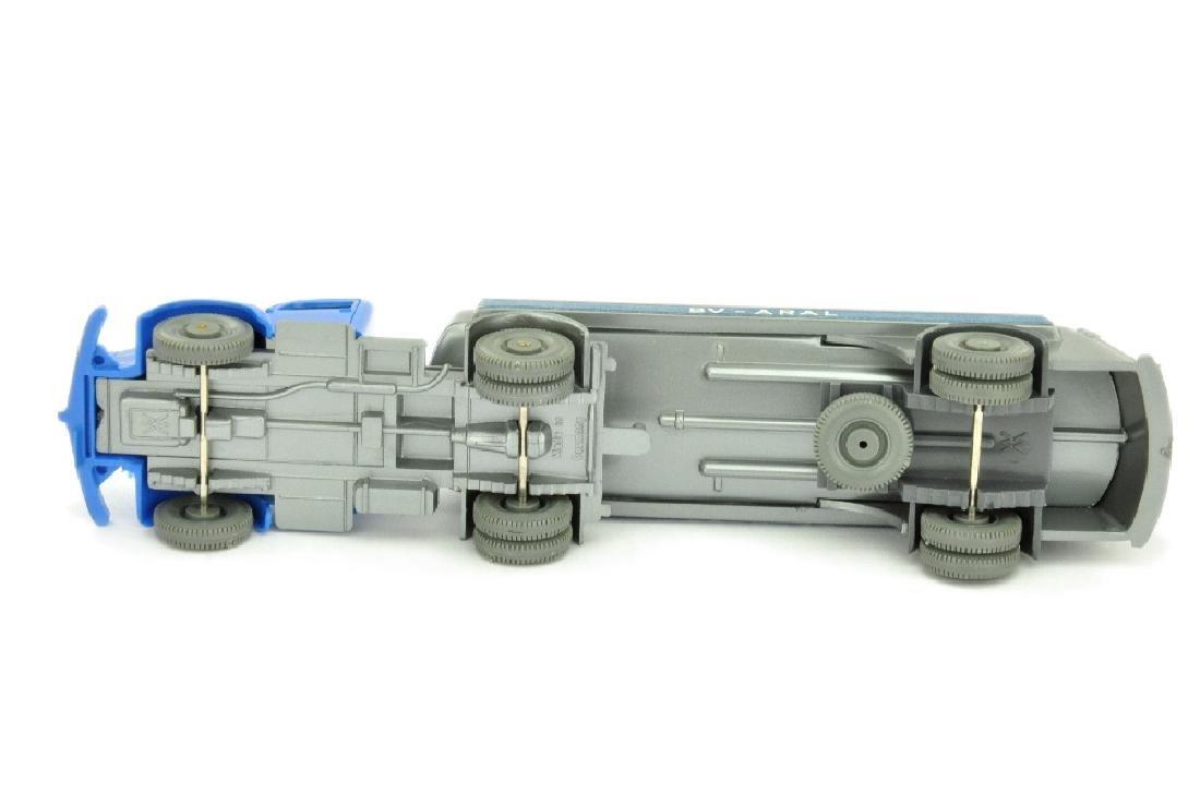 Aral-Tanksattelzug MB 5000, himmelblau/silbern - 3