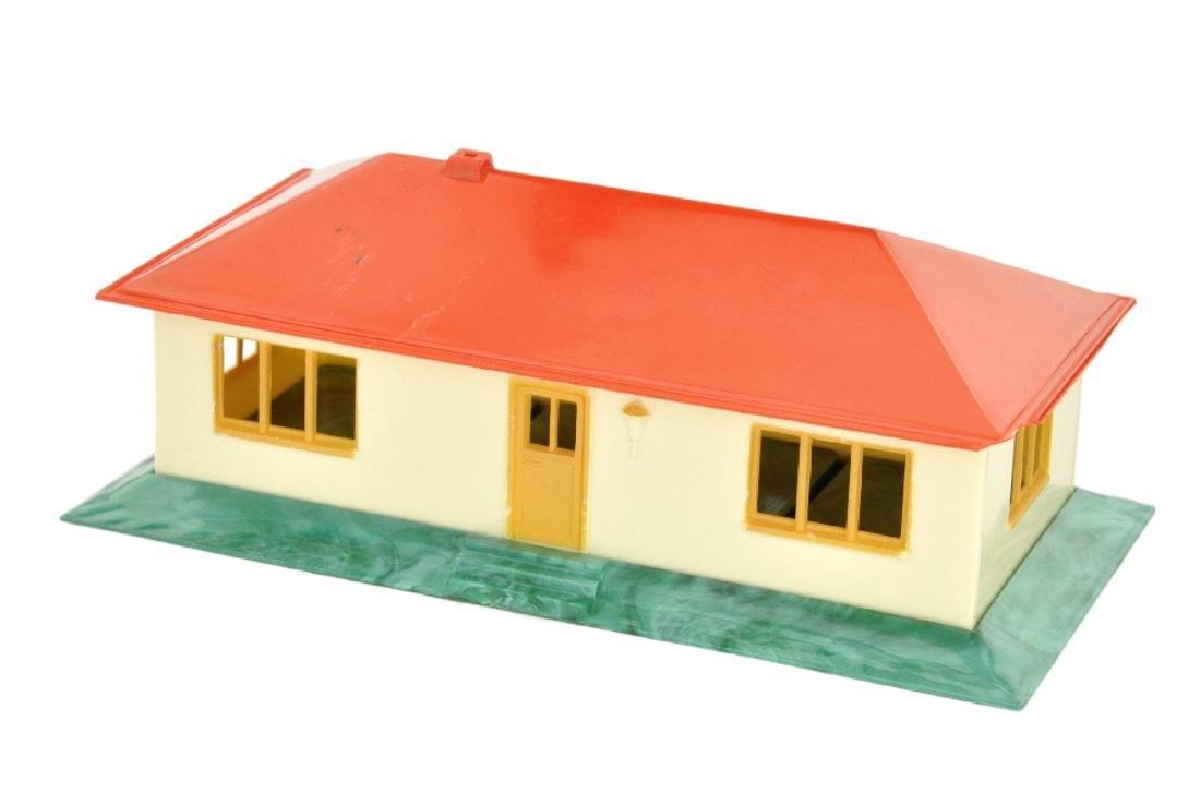 Landhaus ohne Einrichtung (Dach misch-rot)