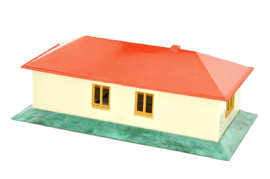 Landhaus ohne Einrichtung (Dach misch-rot) - 2