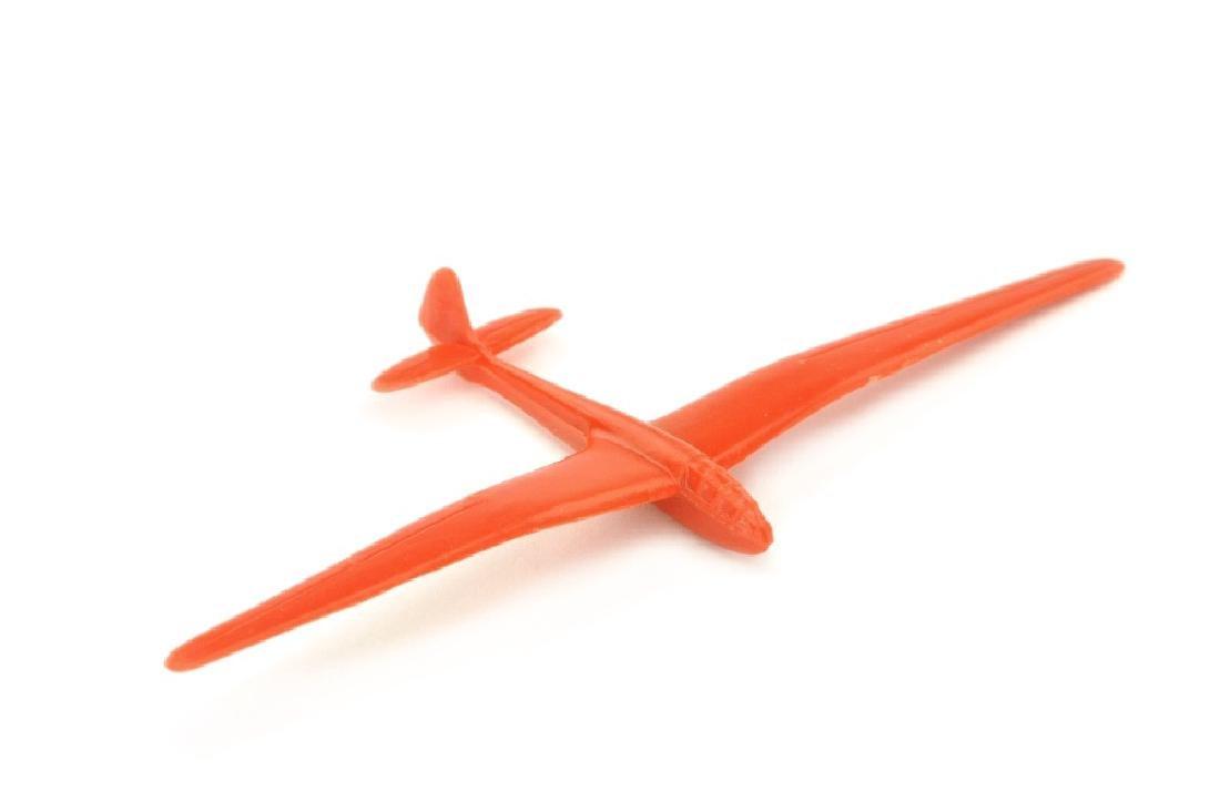 Segelflugzeug Typ Reiher, orangerot