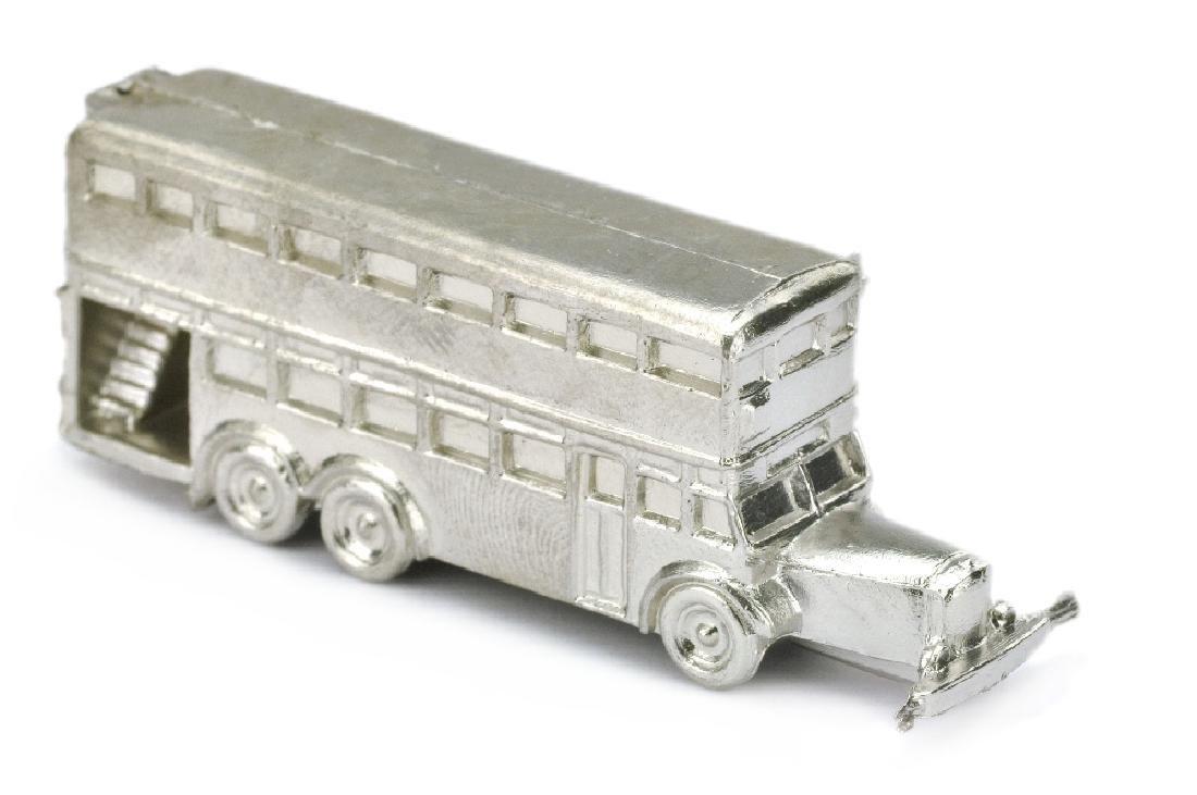 Konvolut 30 Rohlinge Doppeldeckerbus (1:200) - 2