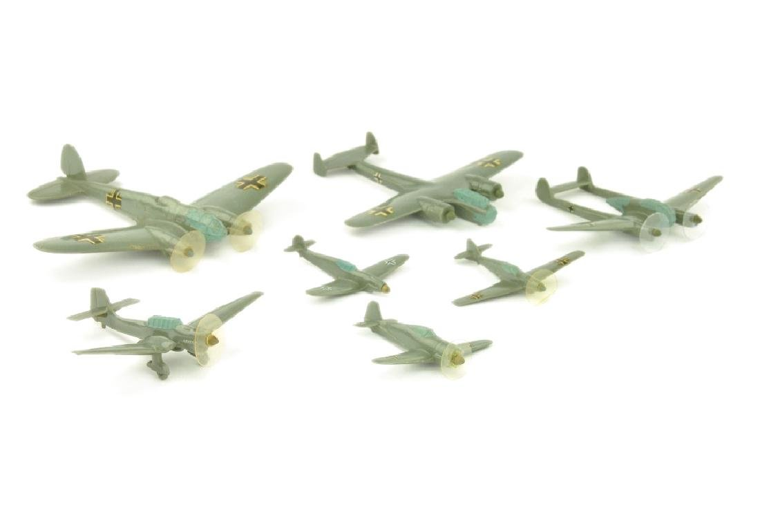 Konvolut 7 deutsche Flugzeuge (Vorkrieg)