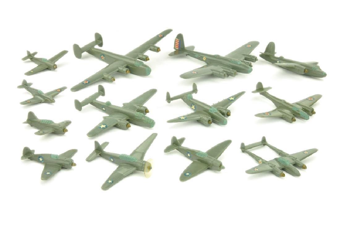 Konvolut 13 amerikanische Flugzeuge (Vorkrieg)