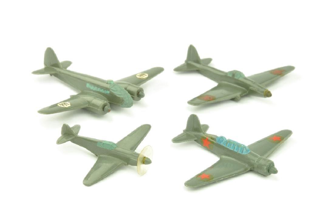 Konvolut 4 Flugzeuge (Vorkrieg)