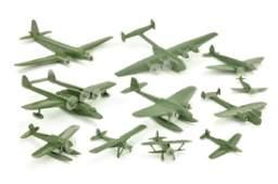 Konvolut 11 deutsche Flugzeuge (Dr. Grope)
