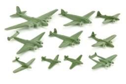 Konvolut 10 Flugzeuge (Dr. Grope)
