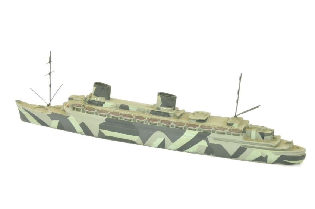 Passagierschiff Bremen (tarnlackiert, Dr. Grope) - 2