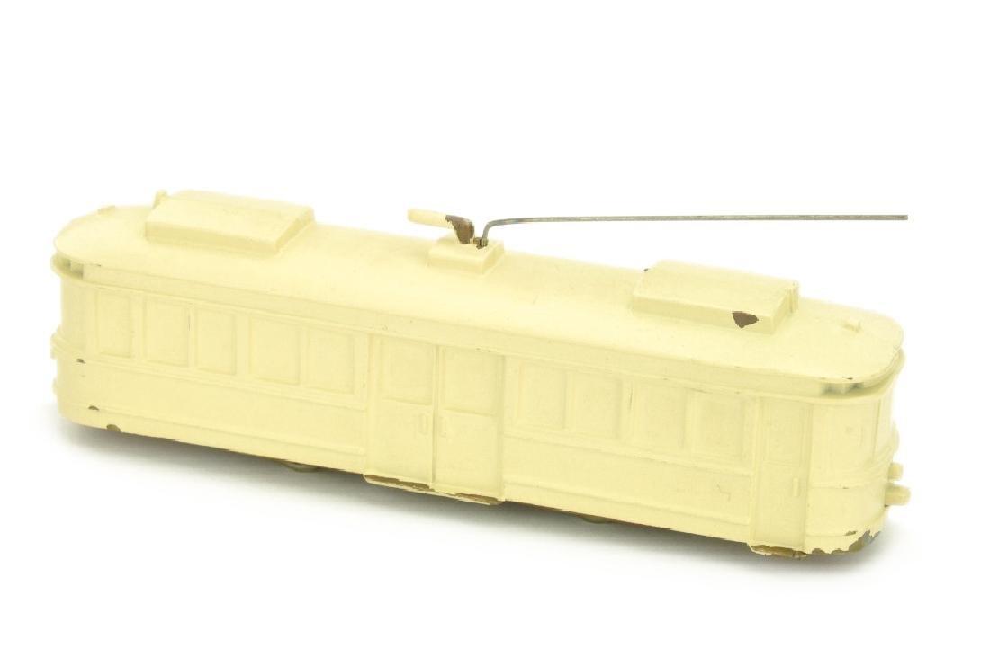 Strassenbahn-Triebwagen, creme lackiert - 2