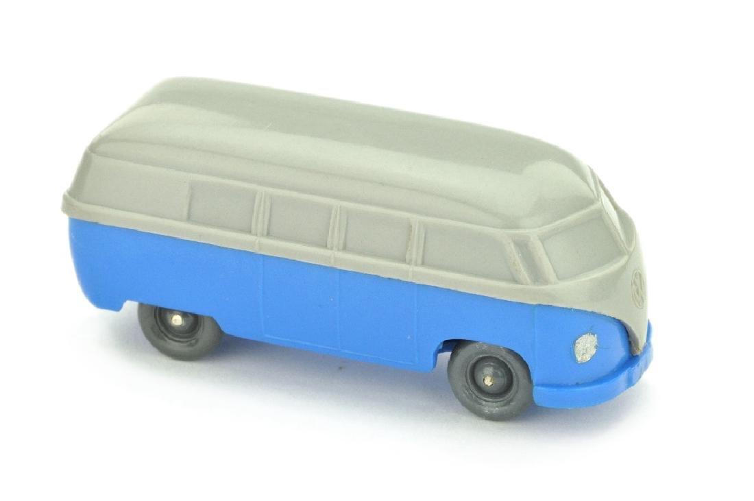 VW T1 Bus (Typ 3), platingrau/himmelblau