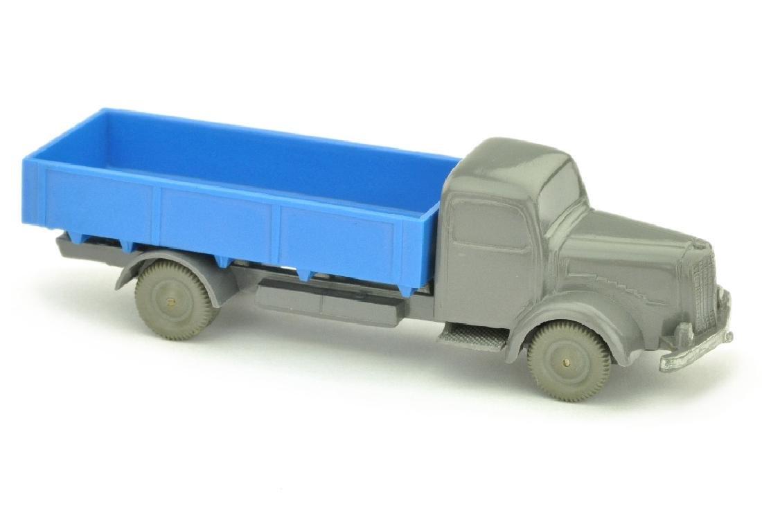 MB 5000 Pritsche, basaltgrau/himmelblau