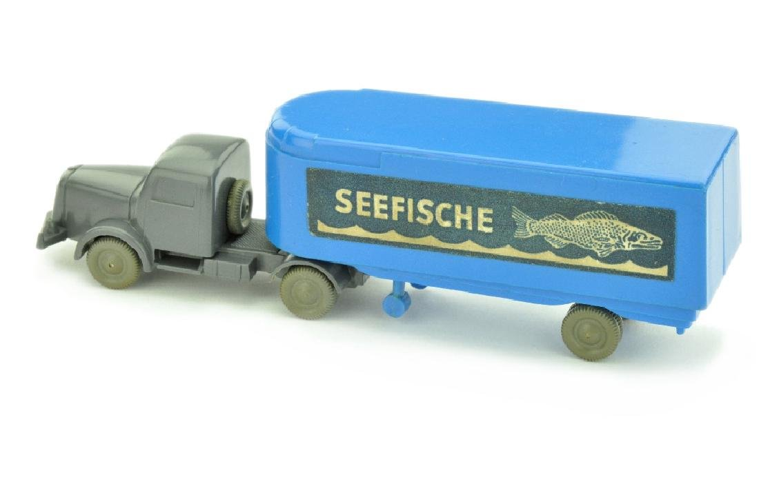 Sattelzug Henschel Seefische, himmelblau - 2