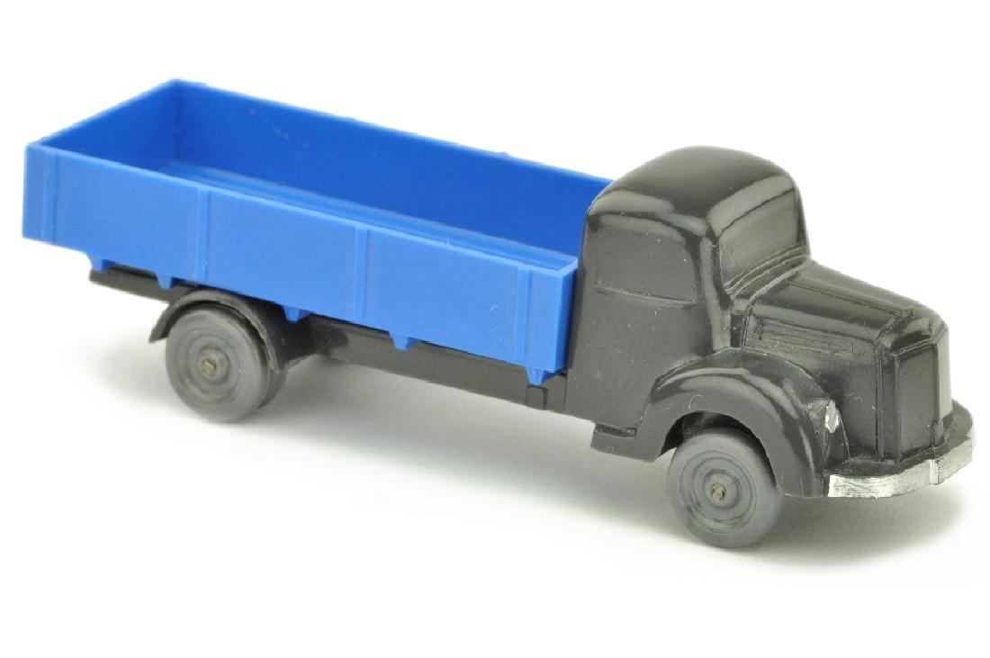 MB 3500 Pritsche, anthrazit/himmelblau