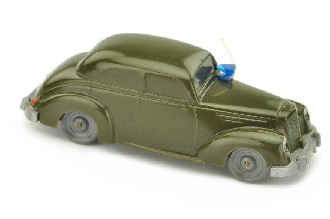 Polizeiwagen Mercedes 220, olivgruen