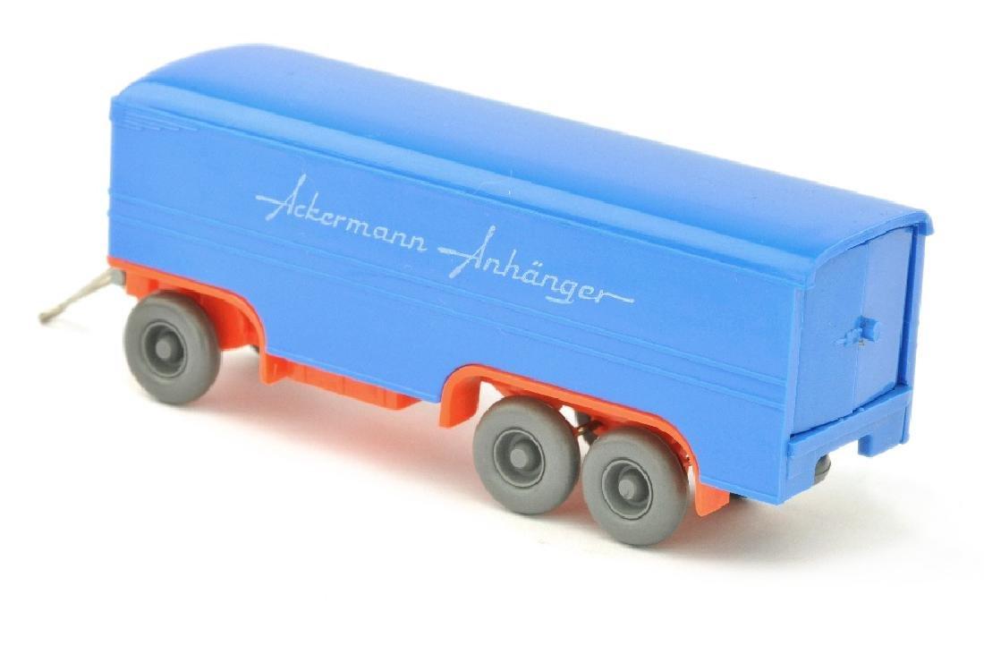 Ackermann-Anhaenger, himmelblau/leuchtorange - 2