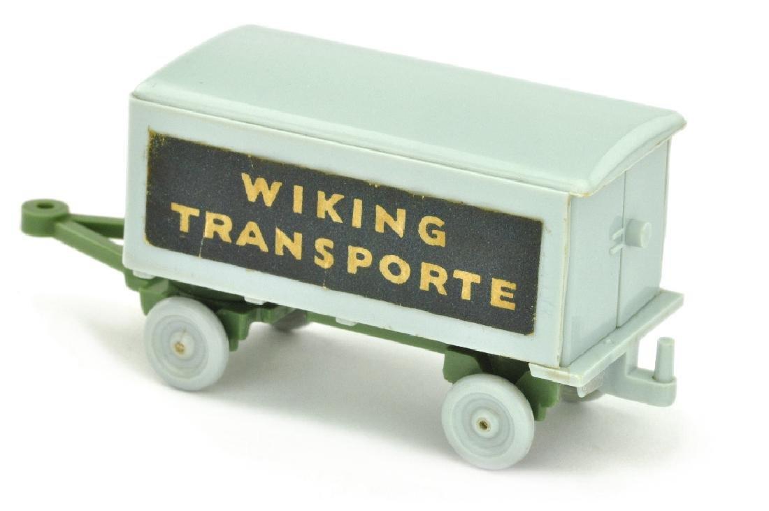 Anhaenger Wiking Transporte, silbergrau/d'maigruen - 2