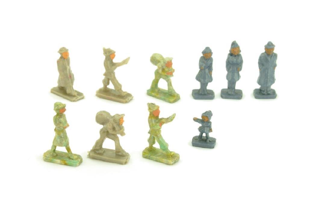 Konvolut 10 einzelne Figuren (Form A)