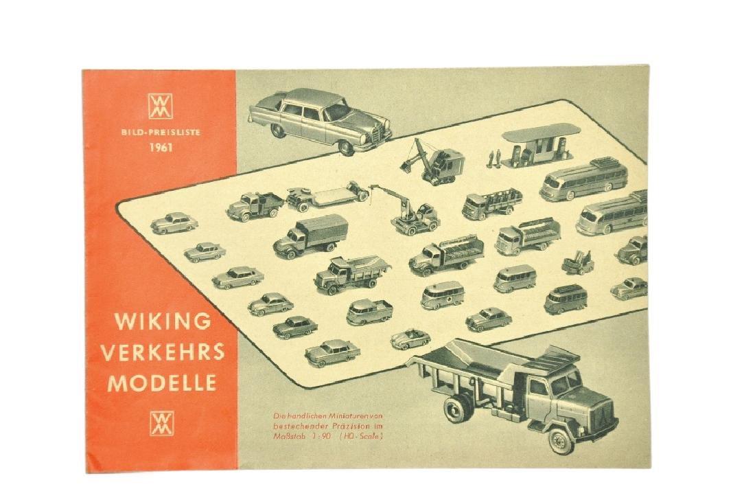 Preisliste 1961