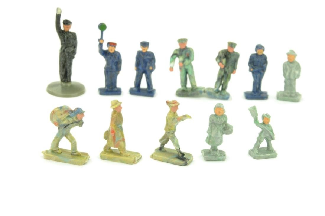 Konvolut 12 Figuren der 50er Jahre